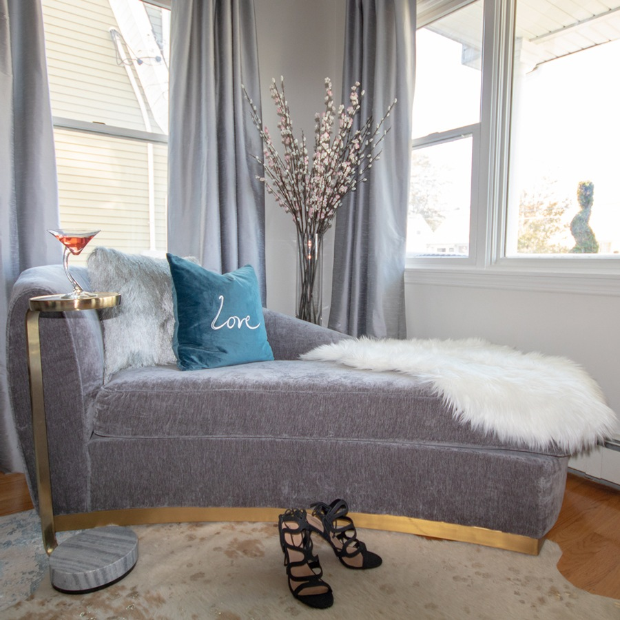 tov-gray-chaise-with-gold-trim-with-fur-throw-900x900