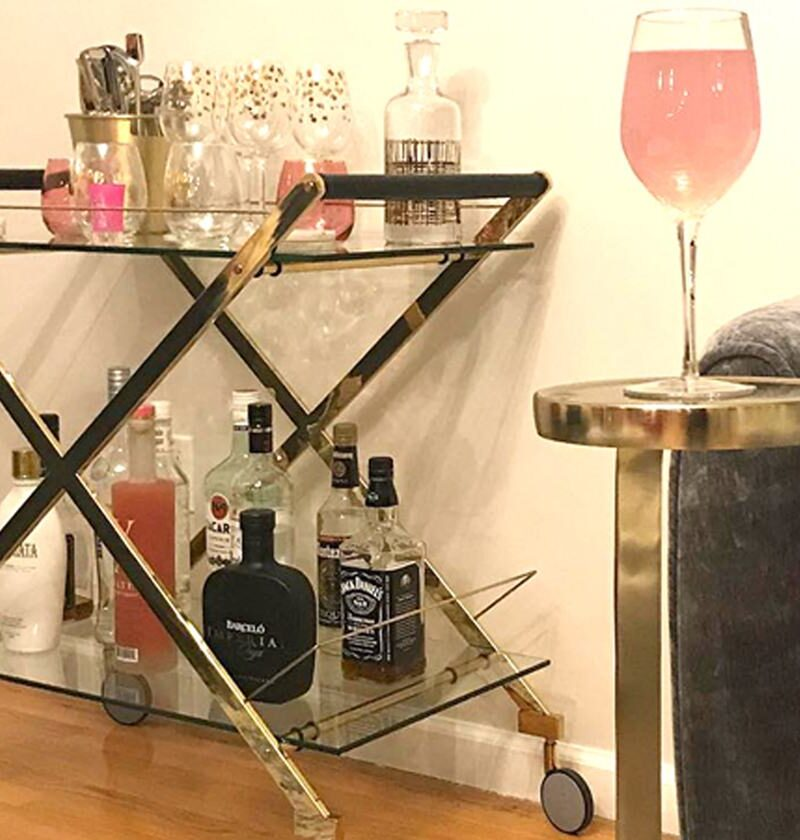 17 Modern Bar Carts That'll Totally Inspire You To Throw A Party In 2021
