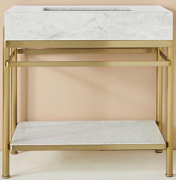 white-and-gold-bathroom-vanity