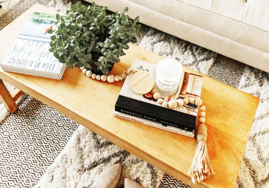 living room makeover Anthropologie