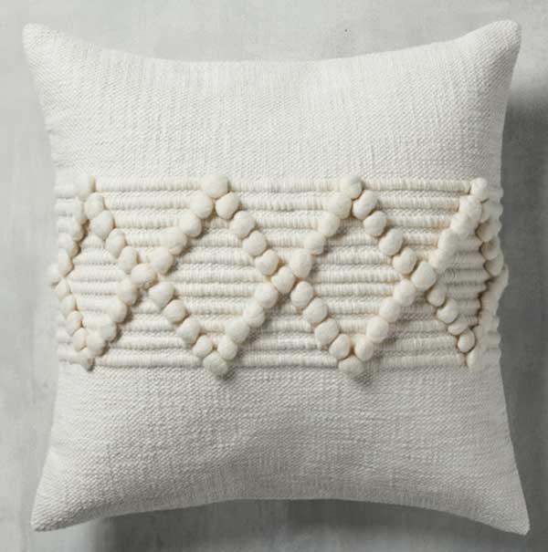 arhaus-chunky-diamond-pillow