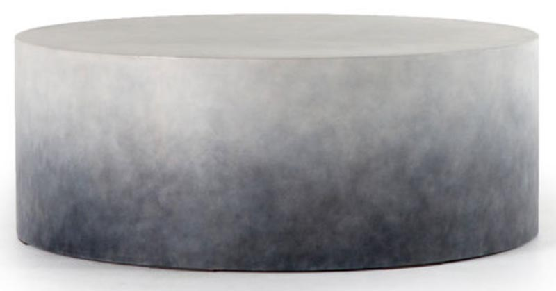 ombre-round-coffee-table
