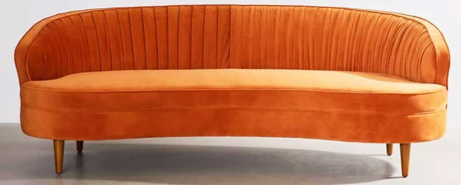 terracotta-velvet-sofa