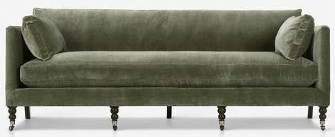 moss-green-velvet-sofa