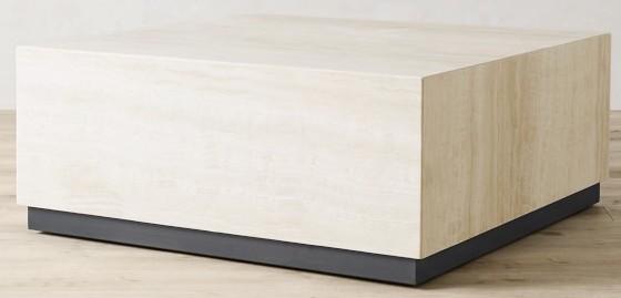 travertine-square-coffee-table