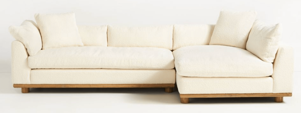 anthropologie-chaise sectional sofa-1