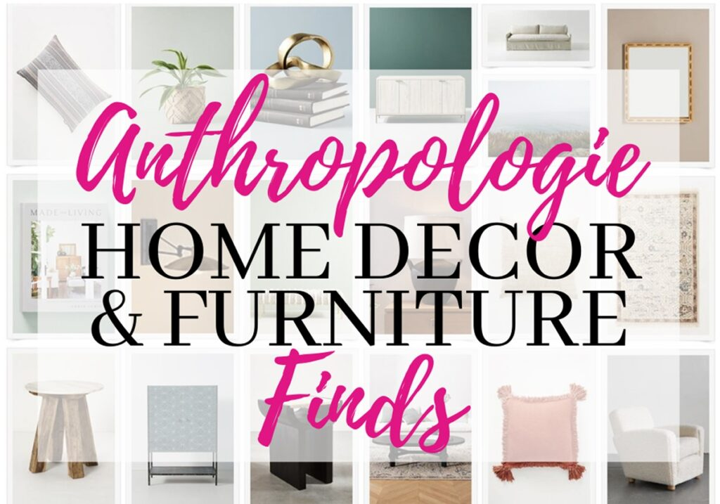 anthropologie home decor