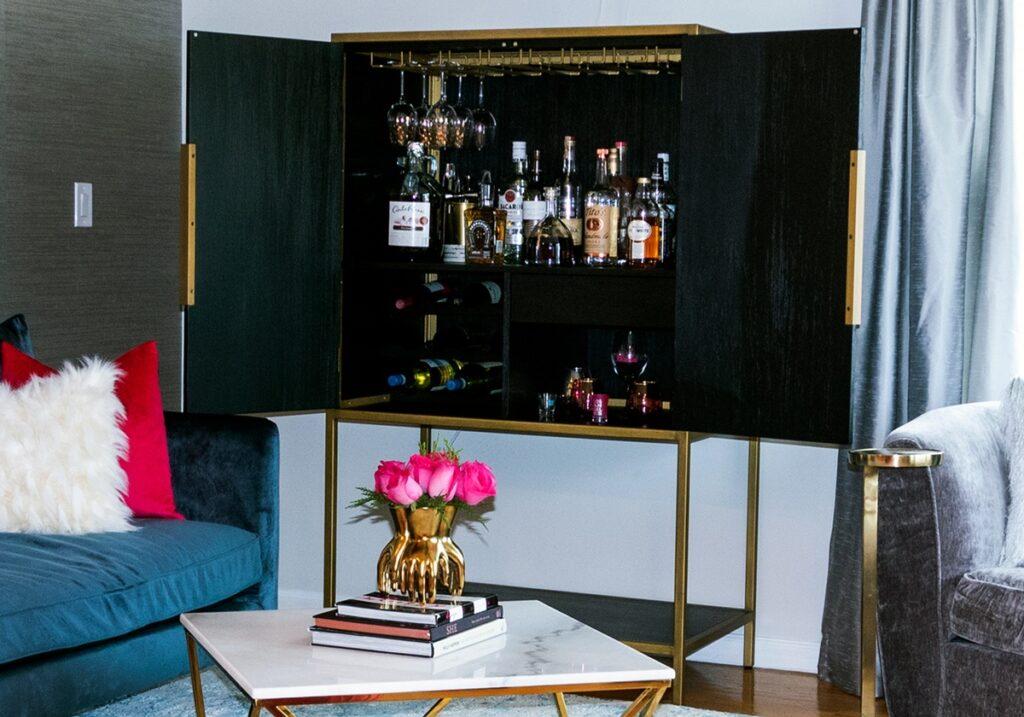bar cabinet ideas