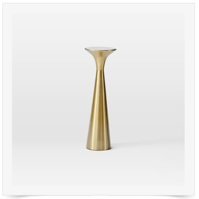 gold-drink-table