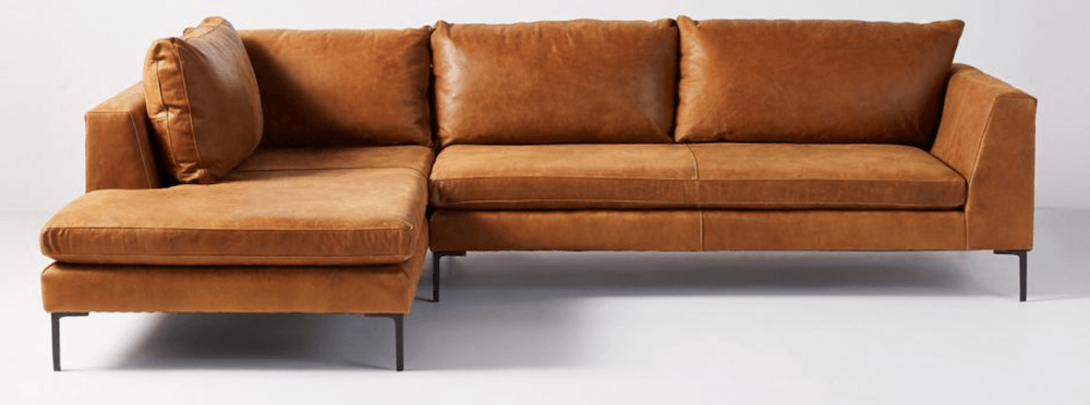 leather-sectional-chaise