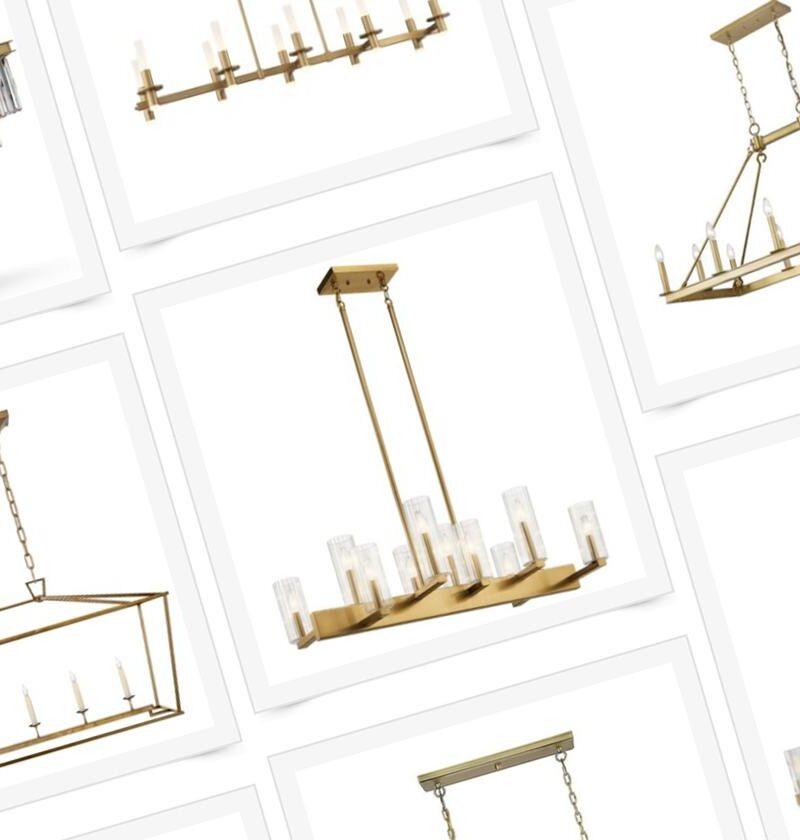linear-chandelier