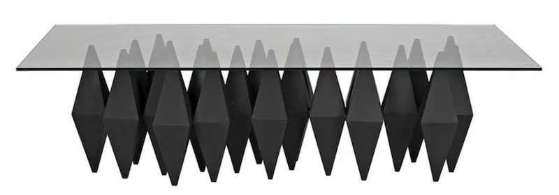 black-metal-coffee-table