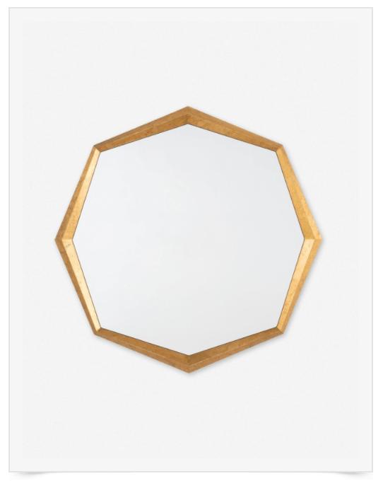 hexagon-wall-mirror