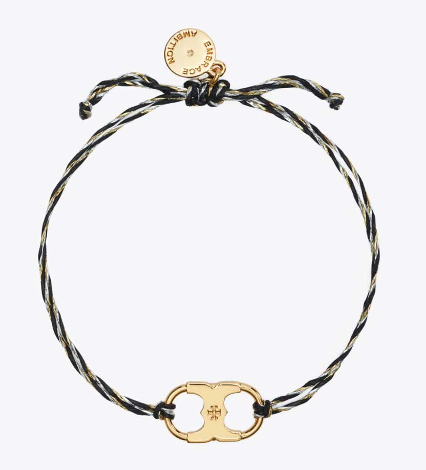 black-and-gold-braclet