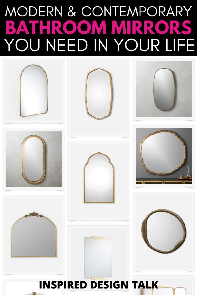 contemporary-bathroom-mirrors