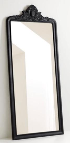 black-standing-floor-mirror
