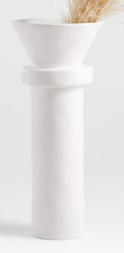 white-modern-vase