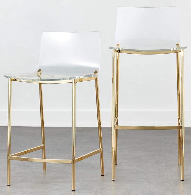modern chair for kitchen island