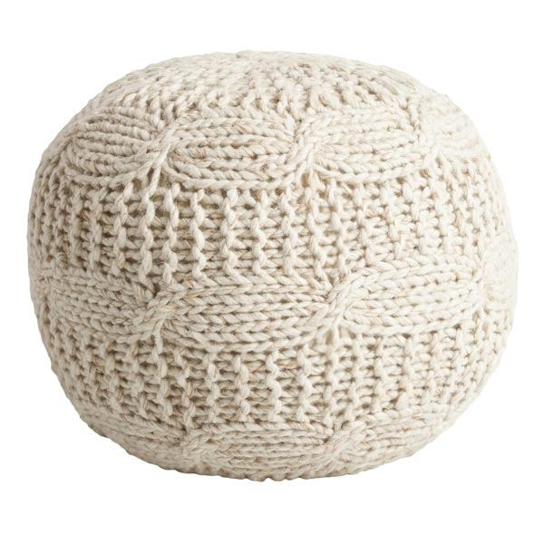 grey-and-white-living-room-pouf