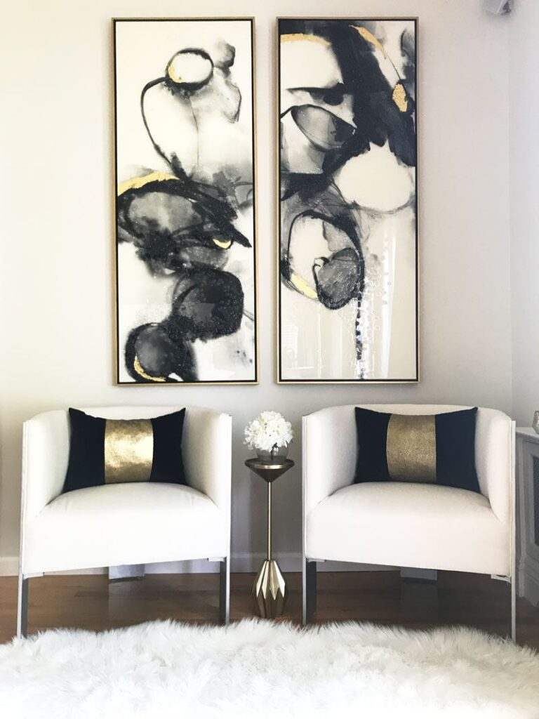 best-accent-chairs-with-artwork