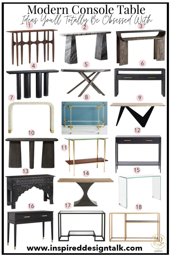 best-console-table