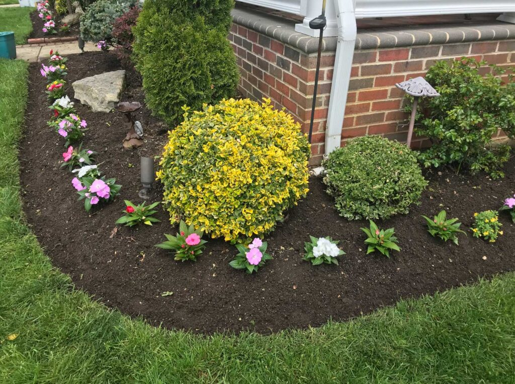 flower-beds-in-front-of-house