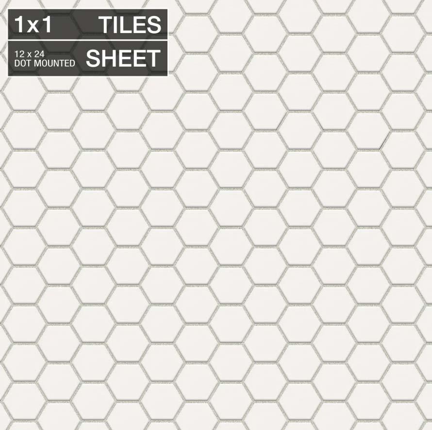 white-hex-tile