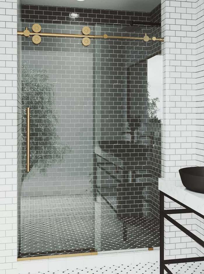 gold-shower-barn-door