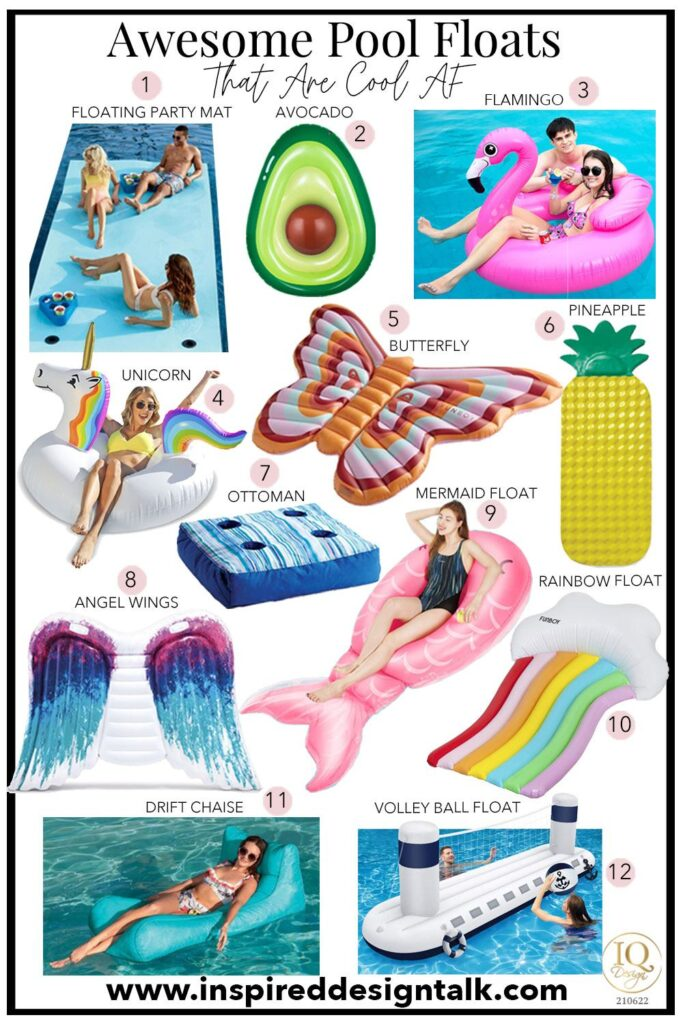 awesome-pool-floats