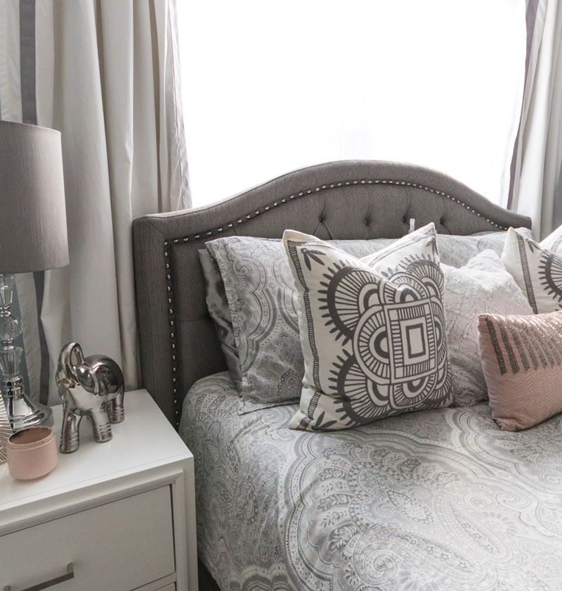 Bedroom Makeover Before And After That Looks Professionally Designed