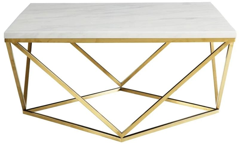 white-marble-gold-coffee-table