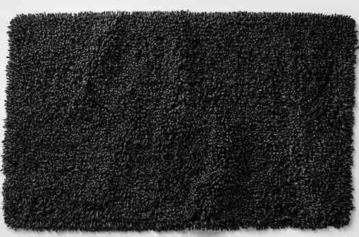 black-bath-mat