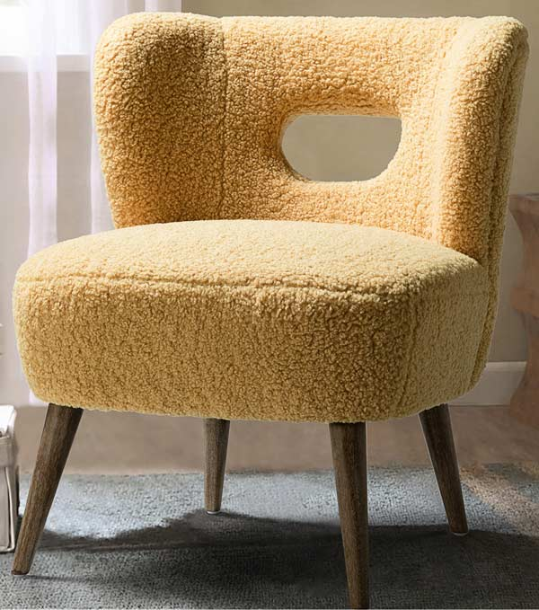 yellow-sherpa-accent-chair