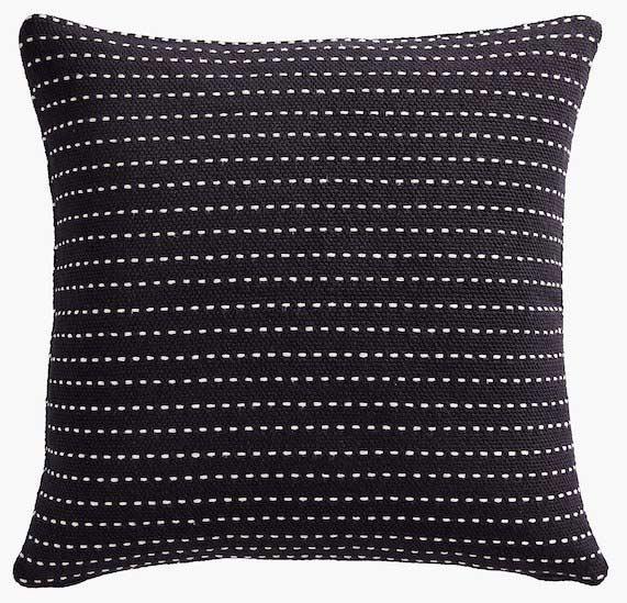 black-modern-pillow