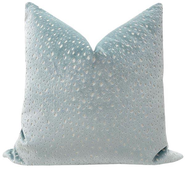 antelope-cut-velvet-pillow
