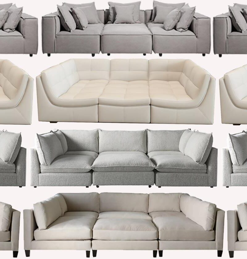 13 Basement Couch Modular Sectionals That Are Super Comfy For Movie Night