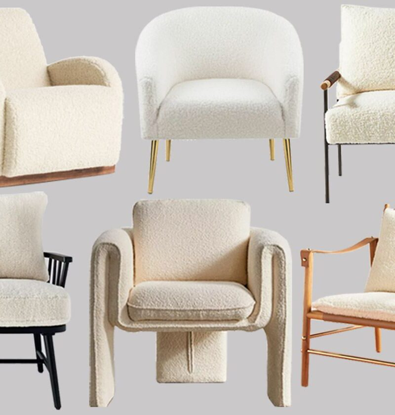 23 Sherpa Accent Chair Styles That'll Make Your Home So Much Cozier