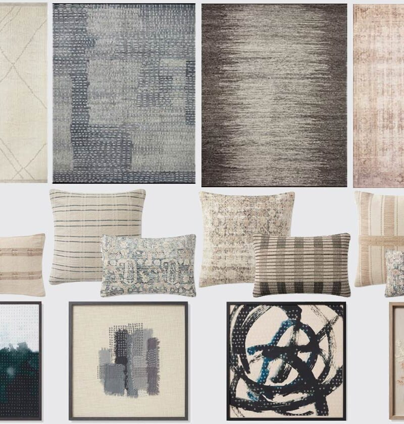 Amber Lewis x Loloi Collection | Rugs, Pillows, And Artwork That Are Cool AF
